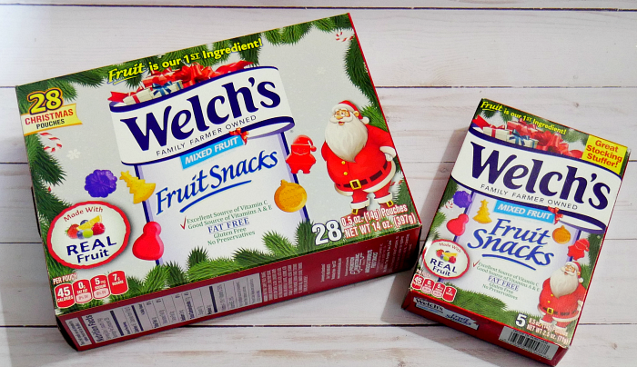 Welch's Christmas Fruit Snacks