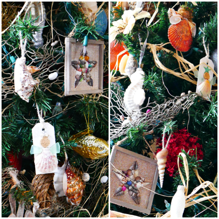 Tropical Ocean Christmas Tree ornaments