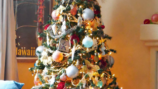 Tropical Ocean Christmas Tree - Day 2 Christmas Tree Blog Hop