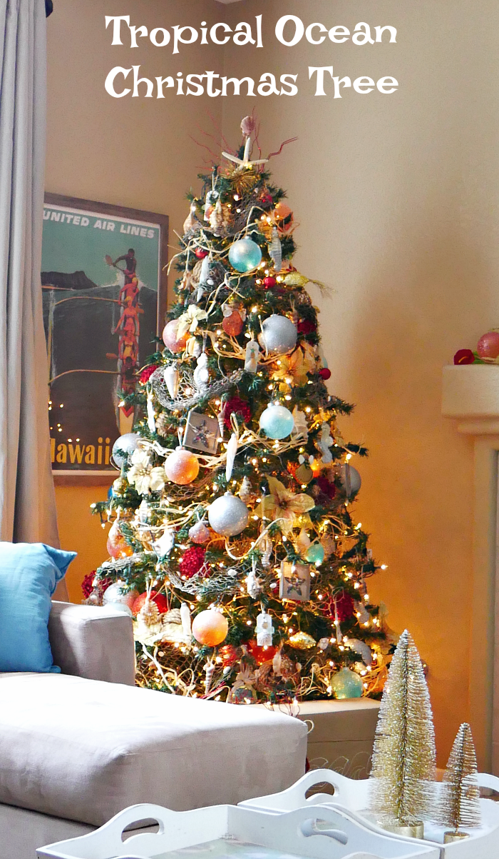 Tropical Ocean Christmas Tree
