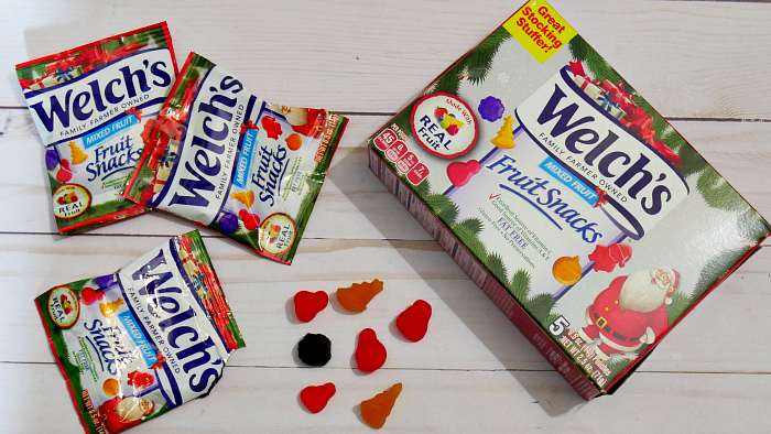Welch's Christmas Fruit Snacks 5 count box