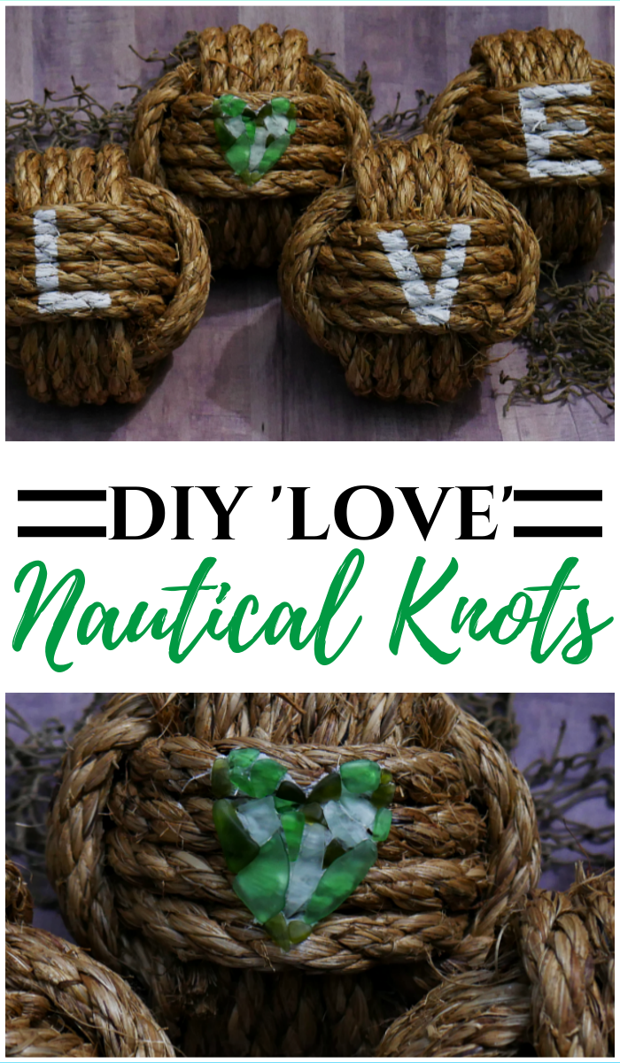 DIY 'Love' Nautical Knots