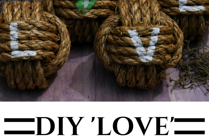 DIY Love Nautical Knots with Sea Glass