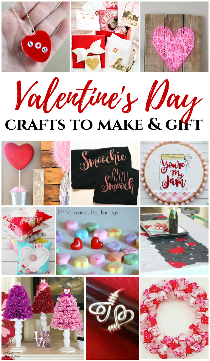 DIY Valentine's Day Crafts to make and gift