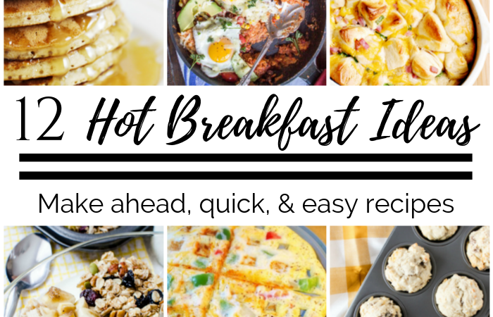 12 Hot Breakfast Ideas – MM #242