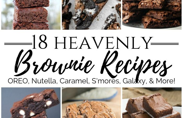 18 Heavenly Brownie Recipes