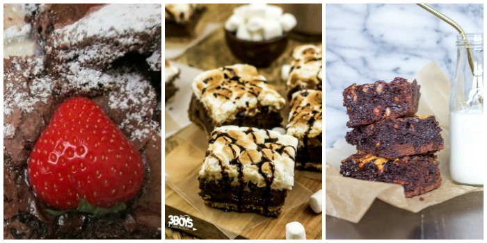 Brownie recipes - chewy zucchini brownies, s'mores brownies, and the best brownie recipe