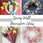 Spring Wall Decoration Ideas