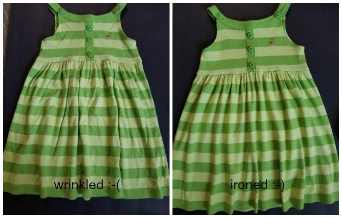 ironed dress for Ebay
