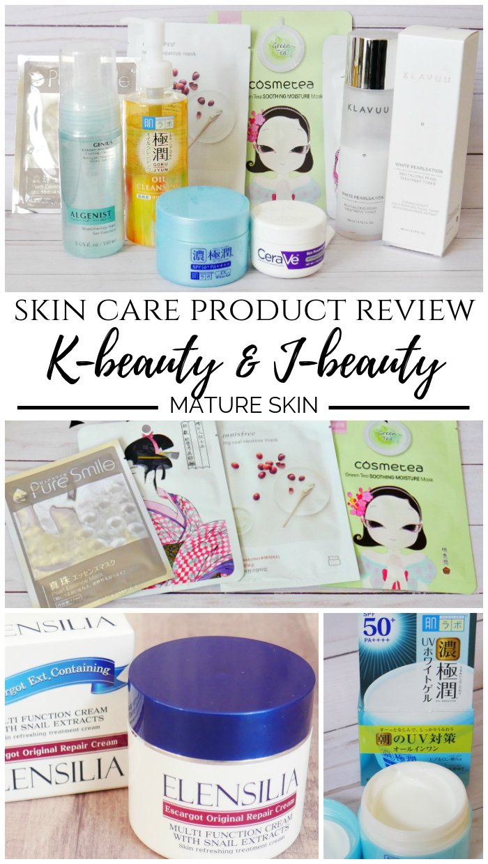 Skin Care Review of K-beauty and J-beauty Products