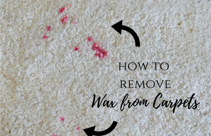 How to Clean Wax from Carpets