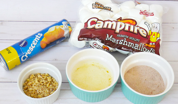 Magic marshmallow crescent puffs ingredients