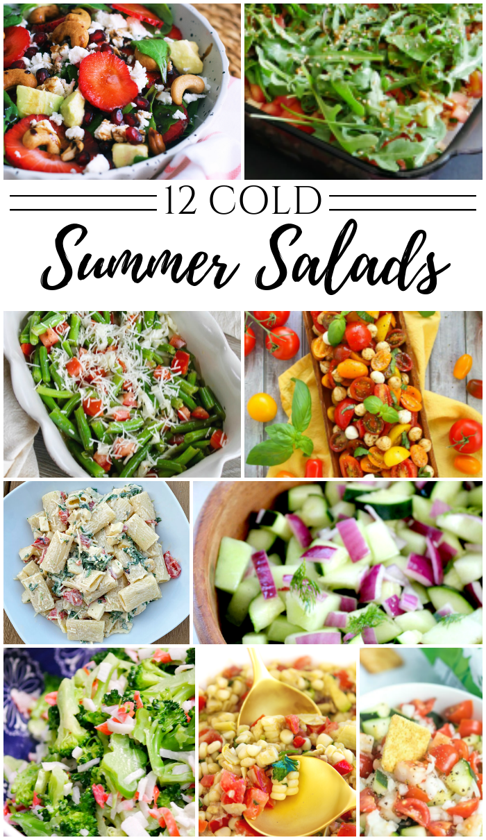 12 Summer Salad Side Ideas