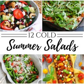 12 cold summer salad recipes