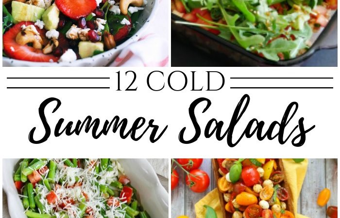 12 Cold Summer Salad Side Ideas – MM #252