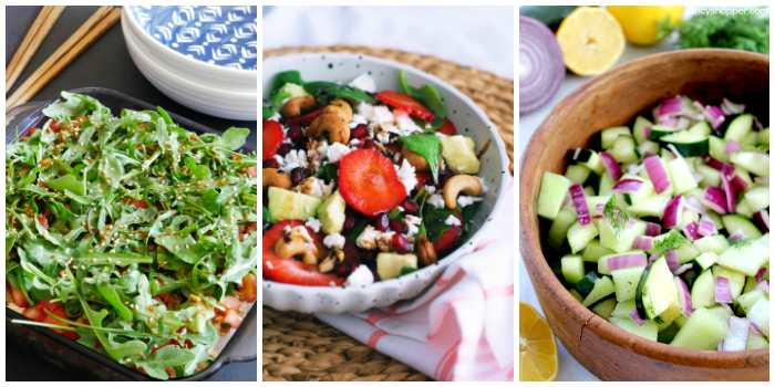 cold summer salad side ideas