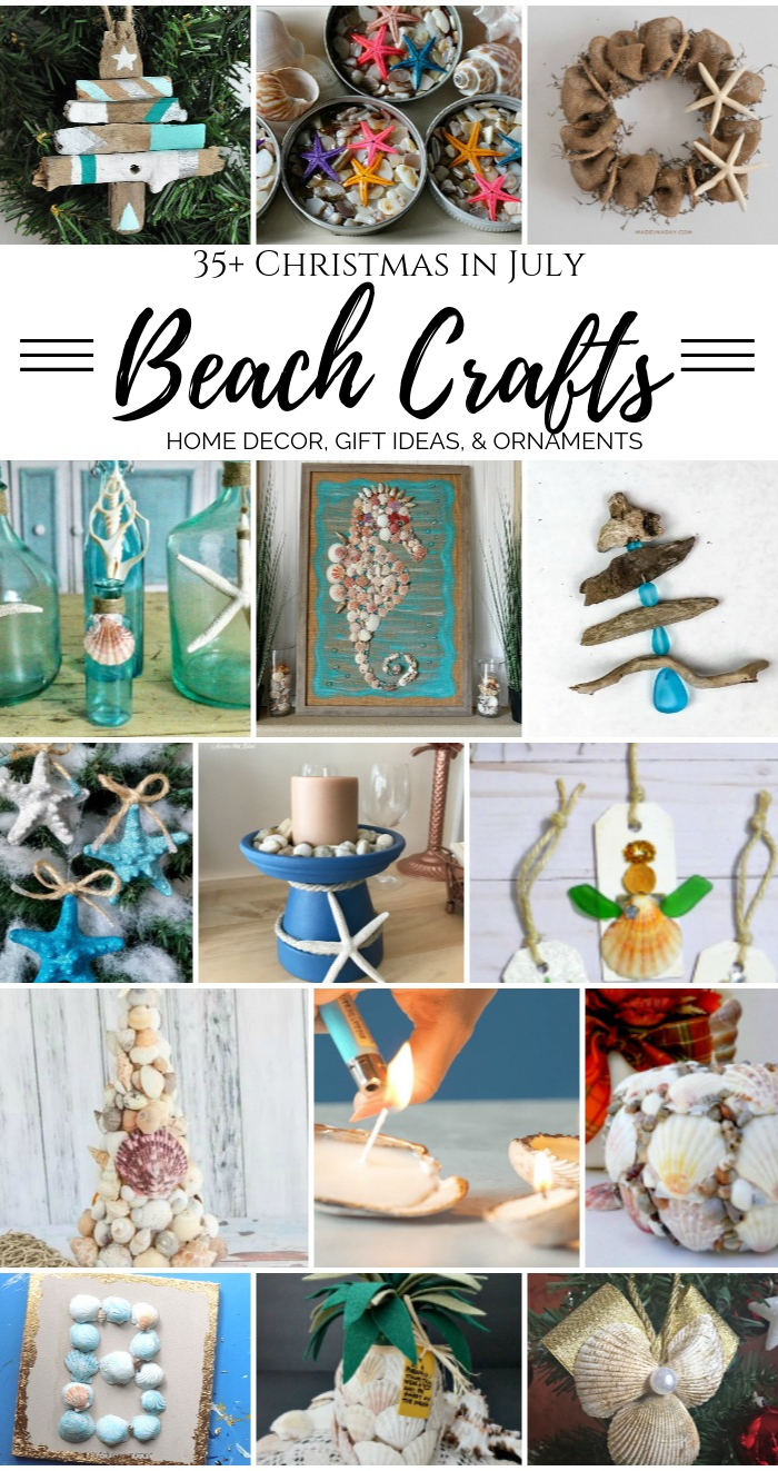 Christmas in July Beach Crafts