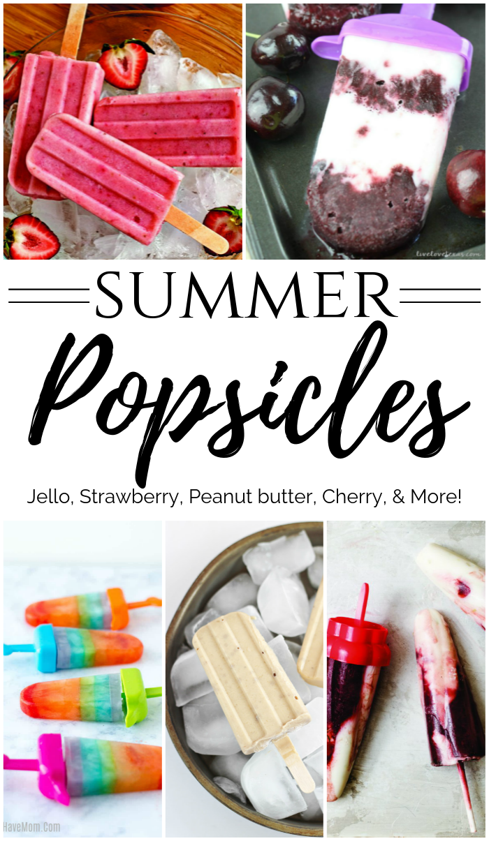 Summer Popsicle Recipes