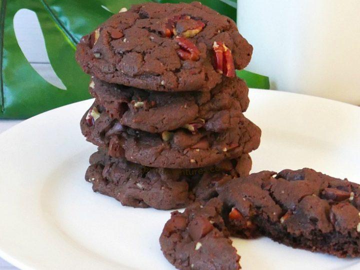 Triple Chocolate Fudge Cake Mix Cookies – My Pinterventures