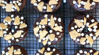 Chocolate S'mores Donuts