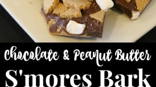 Chocolate Peanut Butter S'mores Bark