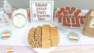 Throw a Backyard Party with these S'mores Themed Free Printables