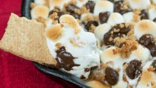 S'mores Cookie Bar Dip