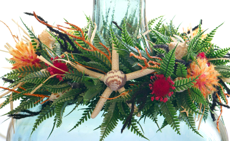 How to make a faux haku lei
