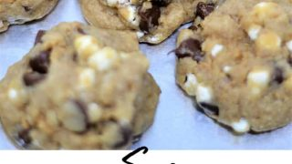 S'MORES COOKIES {A RECIPE}
