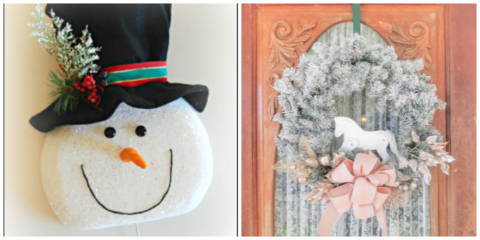 Best DIY Holiday Ideas Wreath 3