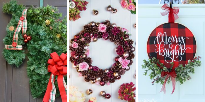 Best DIY Holiday Ideas Wreaths