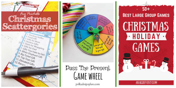 Holiday Favorites featured by top US food blog, Practically Homemade: best Holiday Games