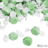 Green Salt Water Taffy Candy | Oriental Trading