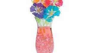 Hibiscus Flower Straws | Oriental Trading
