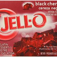 JELL-O Black Cherry Sugar Free Gelatin Dessert Mix (6 oz Box)