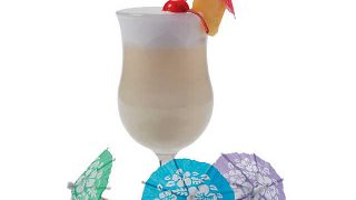 Hibiscus Cocktail Parasols | Oriental Trading