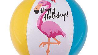 "Inflatable 11"" Luau Christmas Medium Beach Balls"