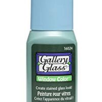 Plaid Gallery Glass Window Color in Assorted Colors (2 oz), 16024, Ivy Green