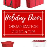 Holiday Decor Organization Guide and Tips slider