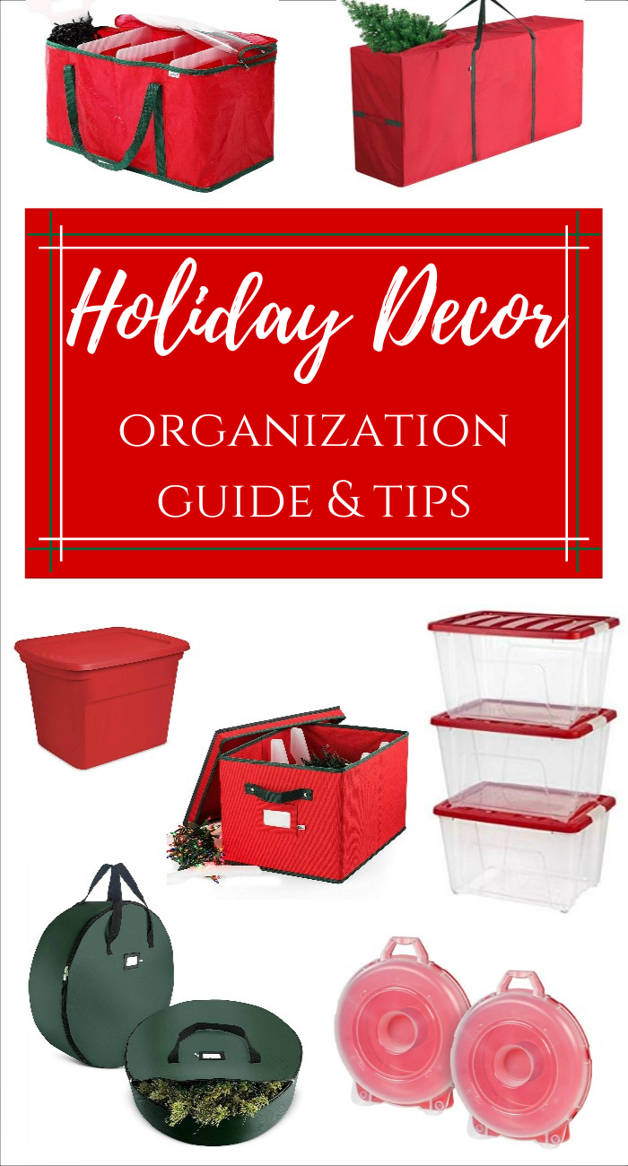 Holiday Decor Organization Guide and Tips