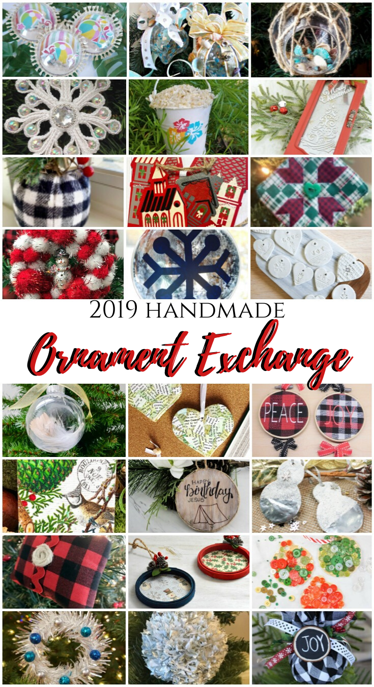 2019 Handmade Ornament Exchange Blog Hop