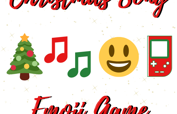 Christmas Song Emoji Game My Pinterventures