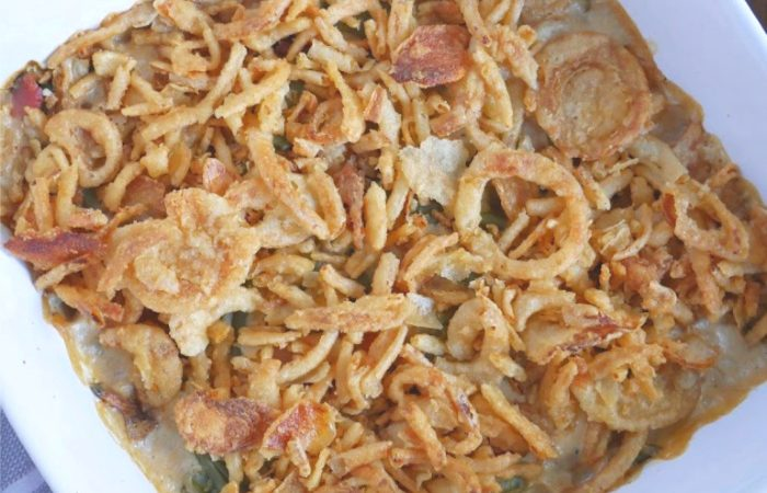 Green Bean Bacon Casserole