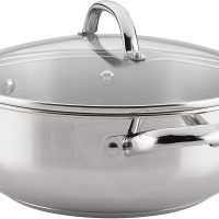 6 quart stainless steel pan