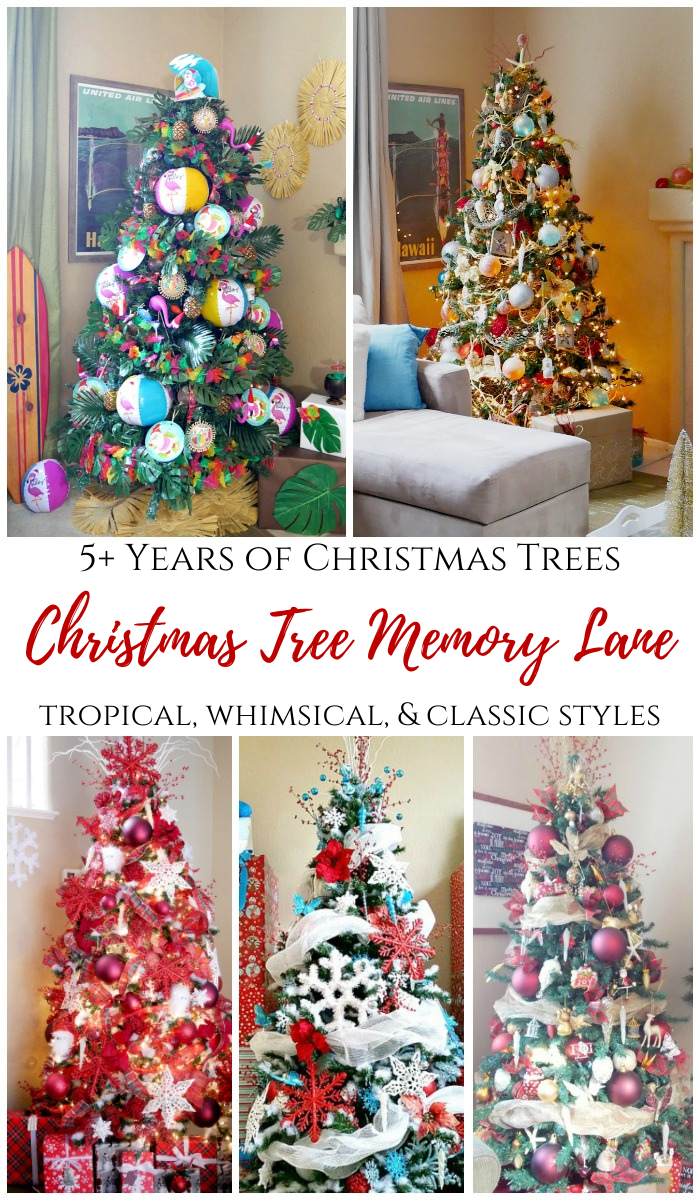 Christmas Tree Memory Lane