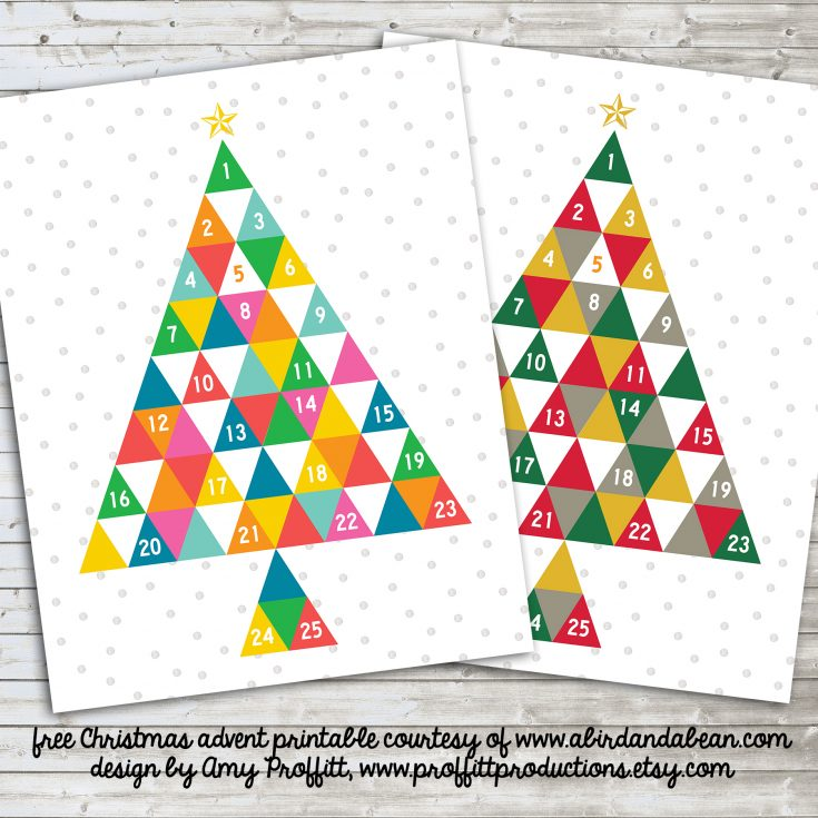 Free Printable :: Advent Calendar