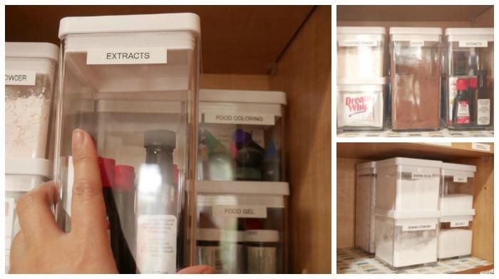 Plastic storage cubes