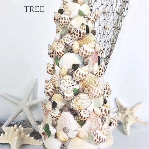 Seashell Christmas Tree Craft