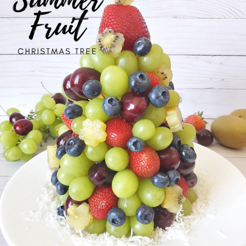 Summer Fruit Christmas Tree
