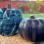 DIY Fall Fabric Pumpkin